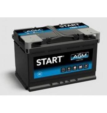 START 95Ah AGM R+ 12V 860A akumuliatorius 353x175x190