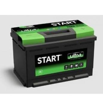 START 100Ah 12V 860A akumuliatorius 353x175x190
