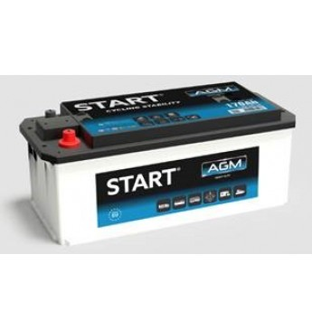 START 140 Ah AGM 12V 1000A akumuliatorius 513x189x223