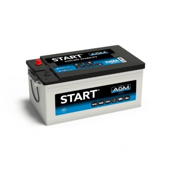 START 220 Ah AGM 12V 1400A akumuliatorius 518x274x242
