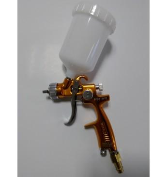 Mini dažymo pistoletas 1.0mm LVLP (geltonas)