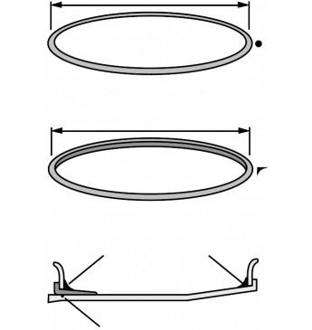 Diskų sandarinimo žiedas 33