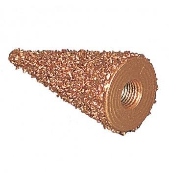 Varinis pašiaušiantis kūginis 25x50 K 18