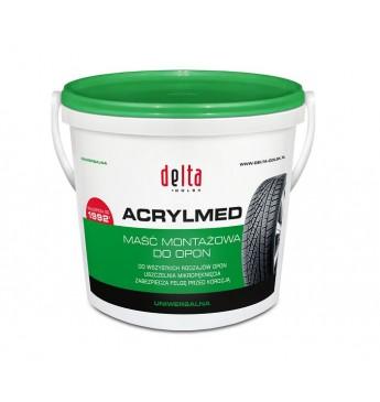 Montavimo pasta DELTA ACRYLMED, žalia, 4 kg