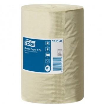 Popieriniai rankšluosčiai TORK Universal M1 gelsvas, 1 sl., 115m