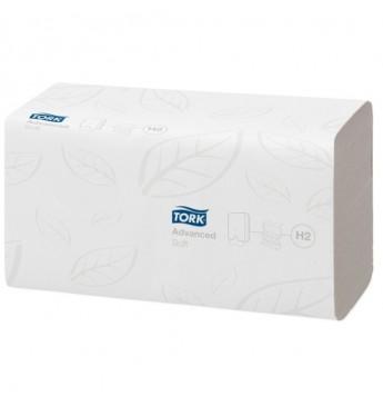 Servetėlės rankšluostis Advanced H2 baltos, 2 sl., 180 servetėlių
