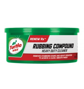 Poliravimo pasta RUBBING COMPOUND Turtle Wax 298g.