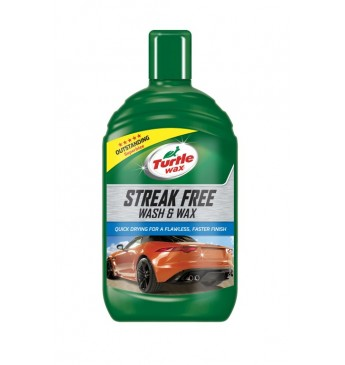 Šampūnas su vašku STREAK FREE Turtle Wax 500ml
