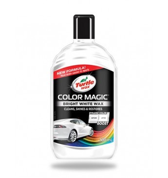 Polirolis Turtle Wax® COLOR MAGIC baltas, 0.5 l