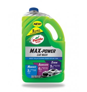 MAX-POWER CAR WASH Turtle Wax 2.95 l (Pagaminta JAV)