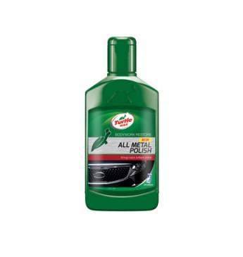 Polirolis metalui, chromui Green line Turtle Wax, 300ml