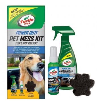Rinkinys PET MESS  KIT Turtle Wax® - Gyvūnų netvarkos valymo rinkinys