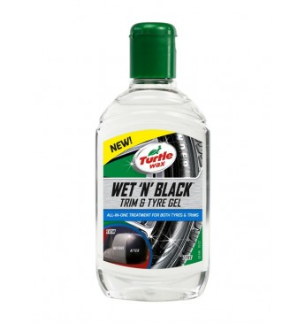 Išorės detalių naujiklis WET N BLACK TRIM Turtle Wax 300ML