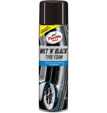 Padangų juodiklis - putos WET N BLACK Turtle Wax 500 ml