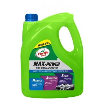 MAX-POWER CAR WASH Turtle Wax 4 l (Pagaminta JAV)