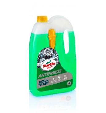 Žalias antifrizas 4l -35°C TurtleWax, 1x3