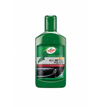 Polirolis metalui, chromui Green line Turtle Wax®, 300ml