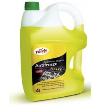 Aušinimo skystis G11 4 l -35°C Turtle Wax® geltonas