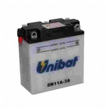 Akumuliatorius Unibat 6V 11AH 122x62x132mm