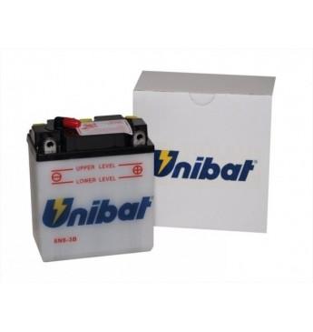 Akumuliatorius Unibat 6V 6AH 99x57x121mm