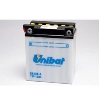 Akumuliatorius Unibat 12V 12AH 165A 134x80x160mm