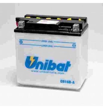 Akumuliatorius Unibat 12V 16AH 207A 160x90x161mm