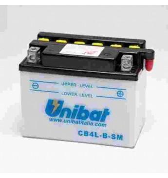 Akumuliatorius Unibat 12V 4AH 56A 120x70x92mm