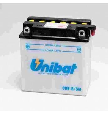 Akumuliatorius Unibat 12V 9AH 130A 135x75x139mm