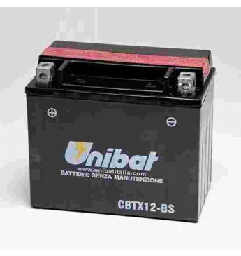 Akumuliatorius Unibat 12V 10AH 180A 150x87x130mm
