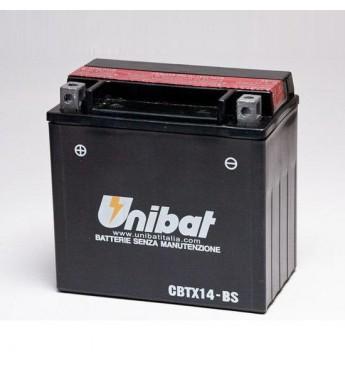 Akumuliatorius Unibat 12V 12AH 200A 150x87x145mm