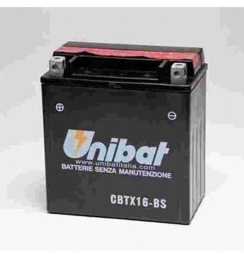 Akumuliatorius Unibat 12V 14AH 230A 150x87x161mm