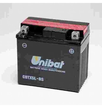 Akumuliatorius Unibat 12V 4AH -+ 70A 114x71x106mm