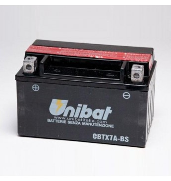 Akumuliatorius Unibat 12V 6AH 90A 150x87x94mm