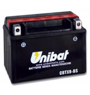 Akumuliatorius Unibat 12V 8AH 120A 150x87x105mm