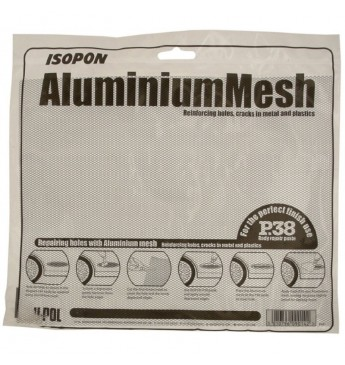 Aliuminio tinklelis 25x20cm 1x50