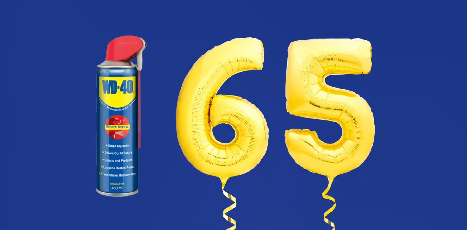 WD-40 jubiliejus!
